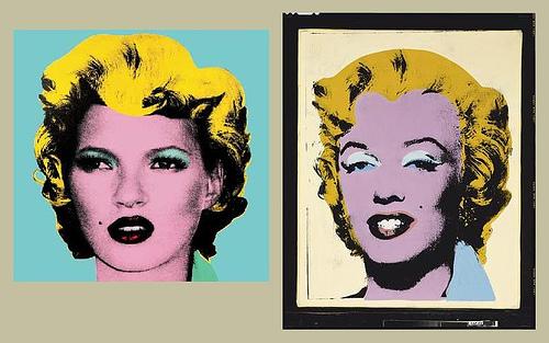 Warhol vs Banksy