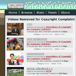 Кладбище видео-нелегалов