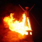 После создания— сжечь