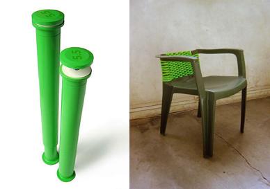 Реанимированный стул от 5.5 designers