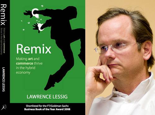 """""""Remix""""— новая книга Лоуренса Лессига"""